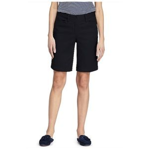 Dockers Bermuda Chino Shorts in Black Size 14
